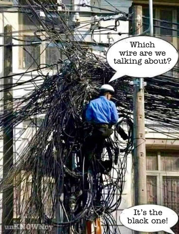 Parting Shots: Which Wire