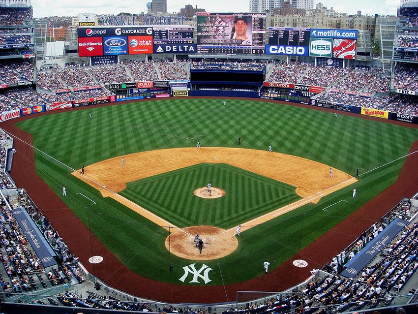 new Yankee Stadium in Concourse, Bronx, New York City