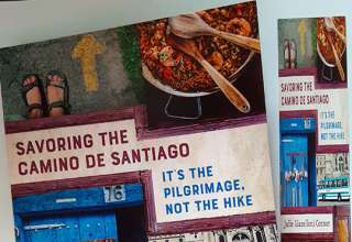 'Savoring the Camino de Santiago' book cover