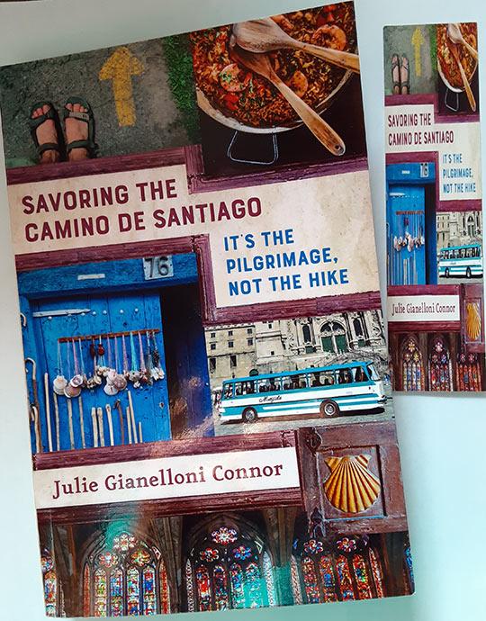 'Savoring the Camino de Santiago' book cover