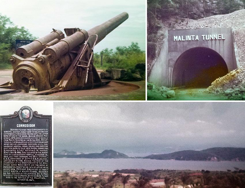 archival photos of Corregidor Island, Philippines