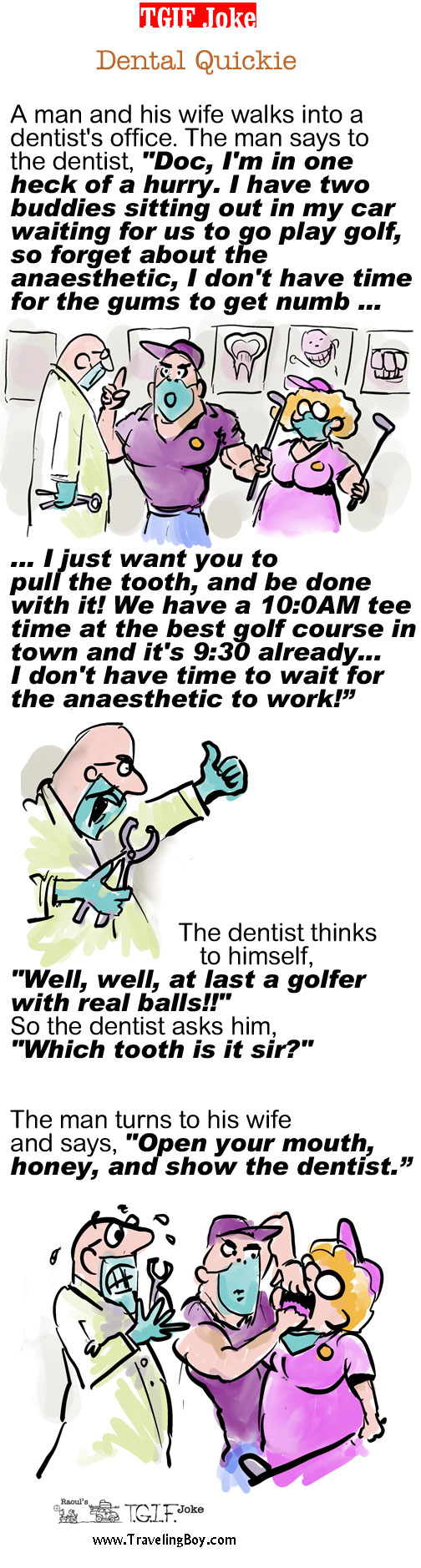 TGIF Joke of the Week: Dental Quickie
