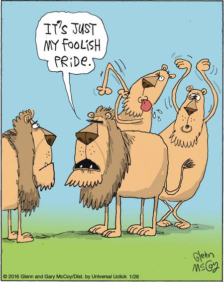 Foolish Pride