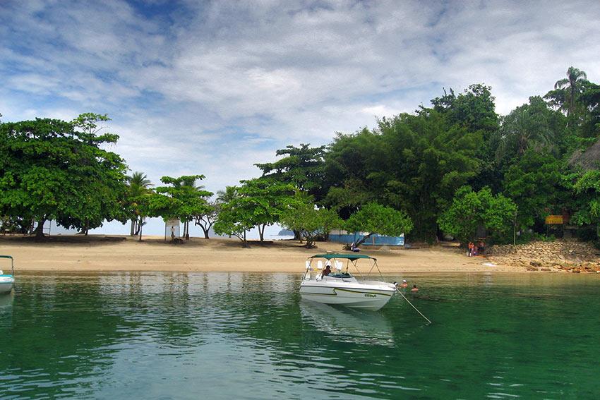 island in Paraty Bay