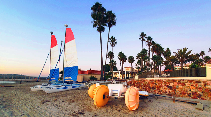 San Diego Mission Bay Resort water activities