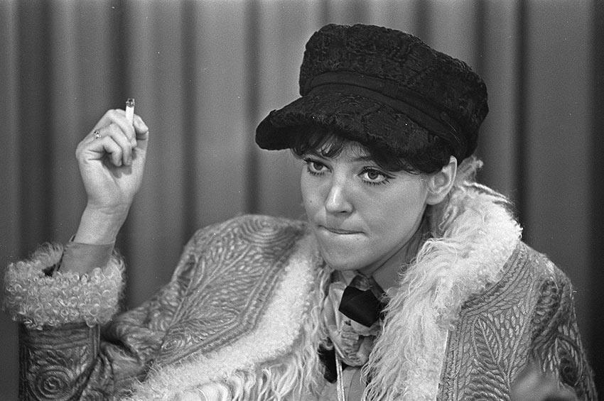 Anna Karina in 1968