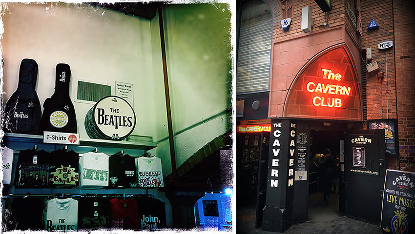 Beatles Story Museum at Albert Dock and The Cavern Club today