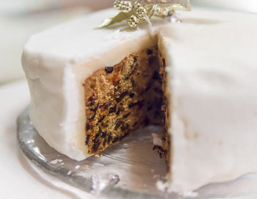 Christmas Cake from Great Britain
