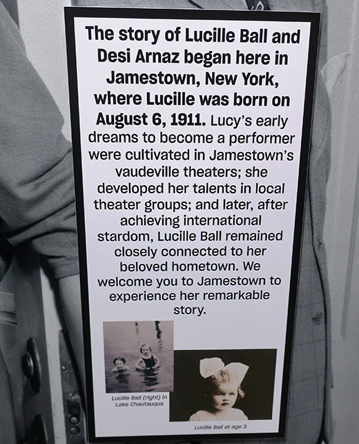 Story of Lucille Ball and Desi Arnaz, Lucy and Desi Museum, Chautauqua, NY