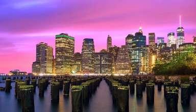 New York Ciy at night