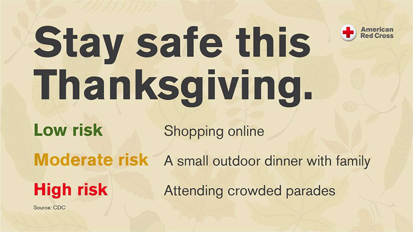 Stay Safe on Thanksgiving