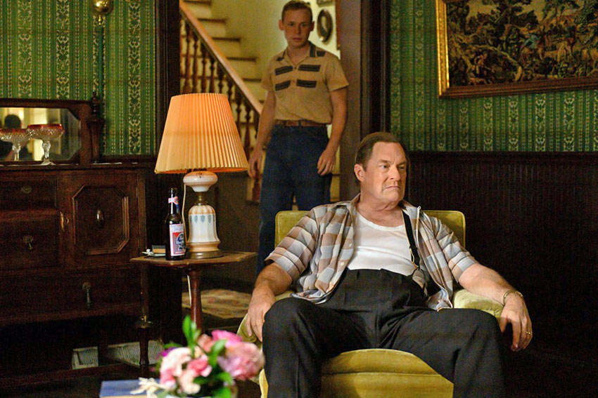Stephen Root and Michael Perez in a scene from 'Uncle Frank'