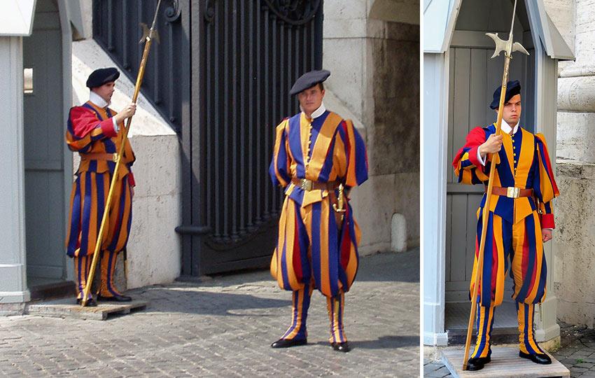 Vatican City Swiss Guards