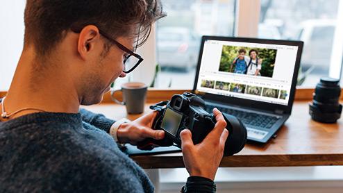 creating and sharing video recap