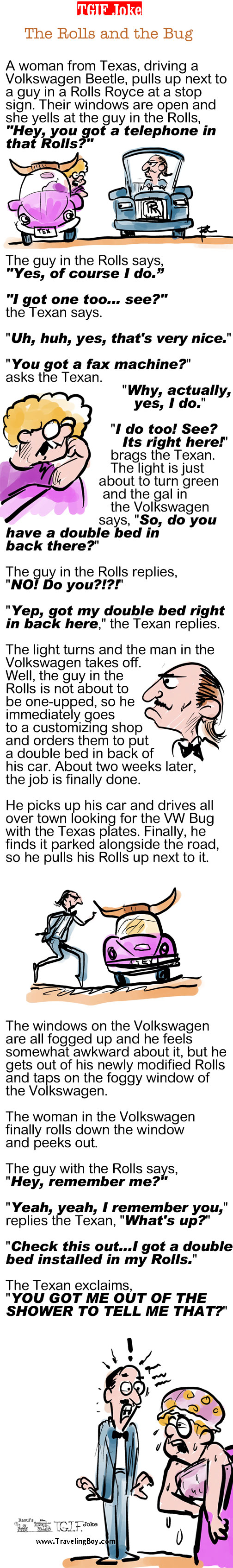 TGIF Joke of the Week: The Rolls and the Bug