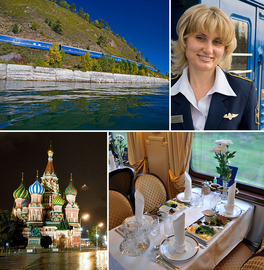 Trans Siberian Railway photos