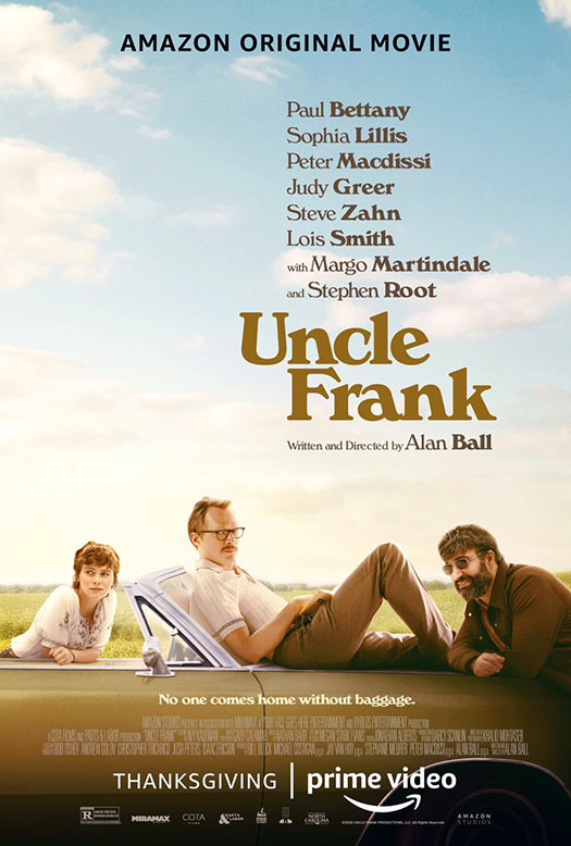 Uncle Frank poster