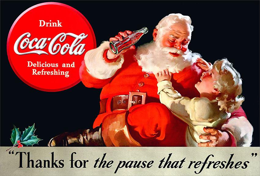 1938 Christmas Coca-Cola Ad