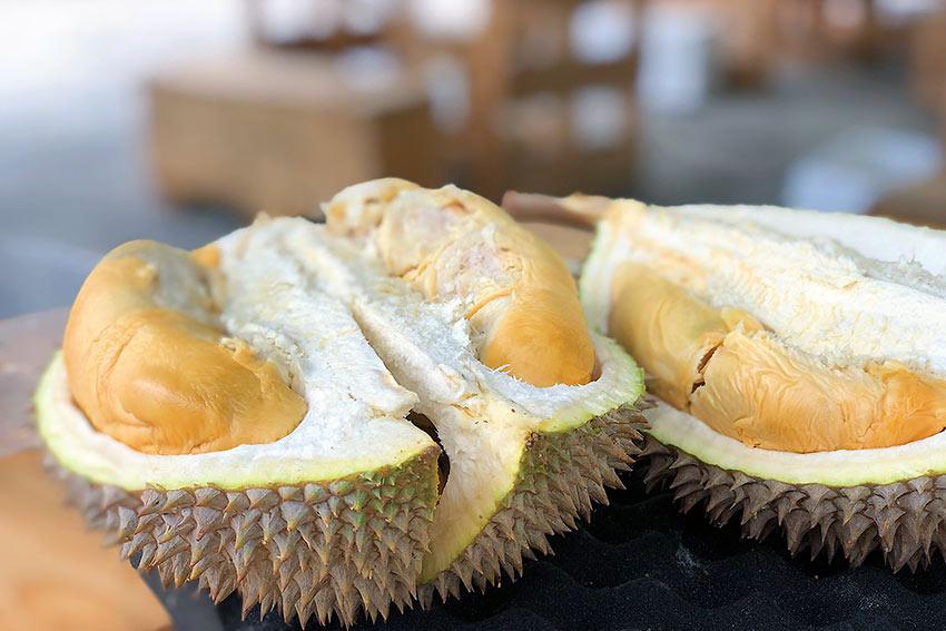 interior durian shot