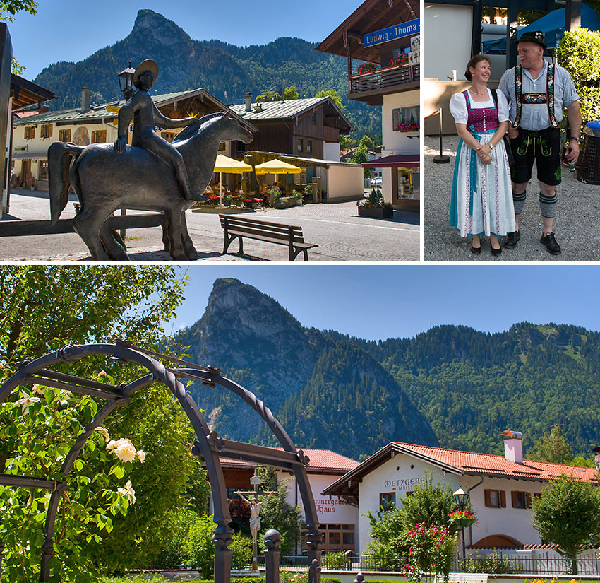 Oberammergau, Bavaria scenes