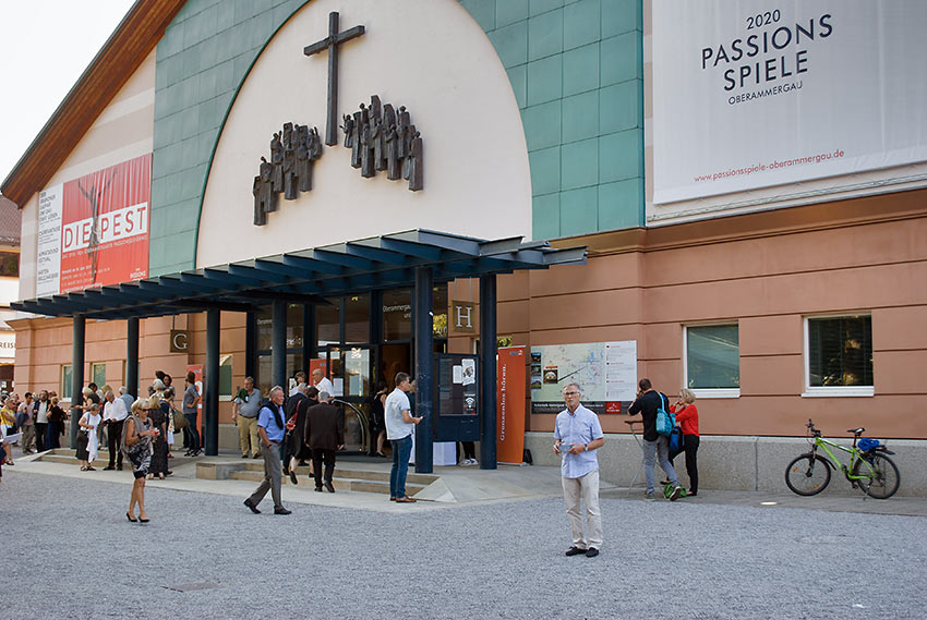 venue for the Oberammergau Passion Play