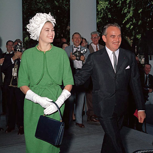 Prince Rainier III and Princess Grace