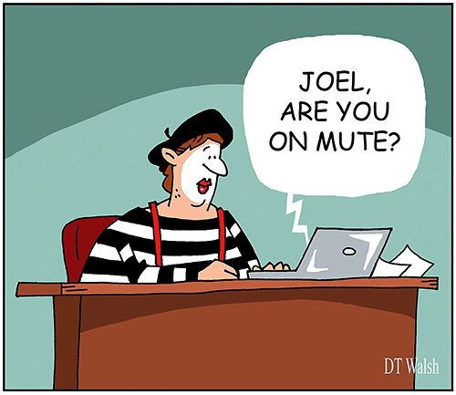 Parting Shots: Are You on Mute?