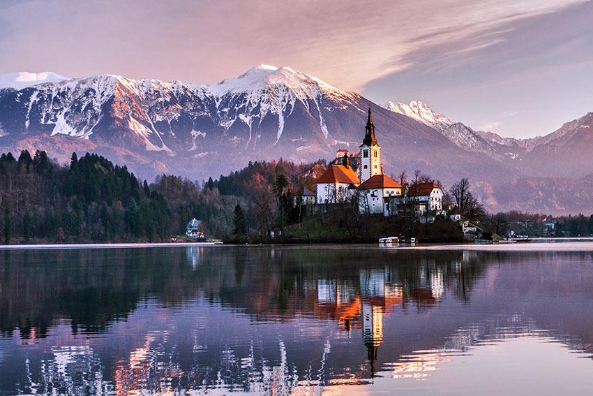 An Assumption In Bled Slovenia