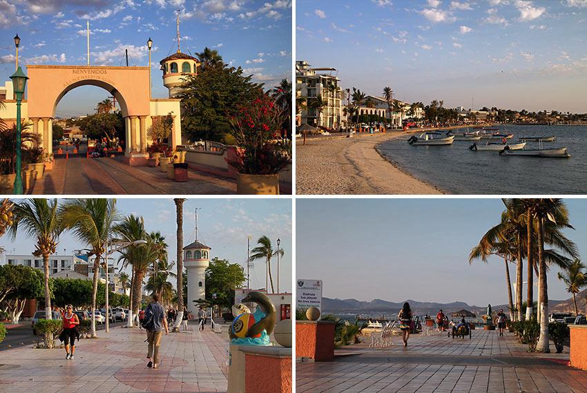 scenes from La Paz, Mexico