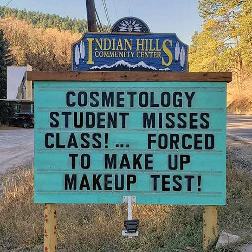Parting Shots: Makeup Test