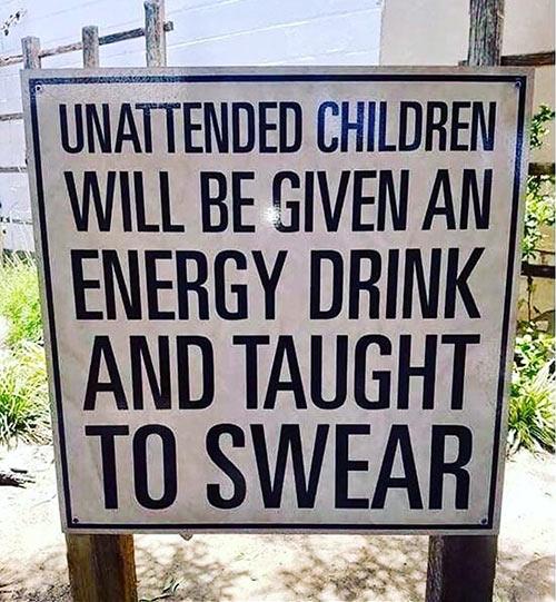 Parting Shots: Unattended Children