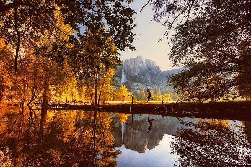 fall at Yosemite National Park