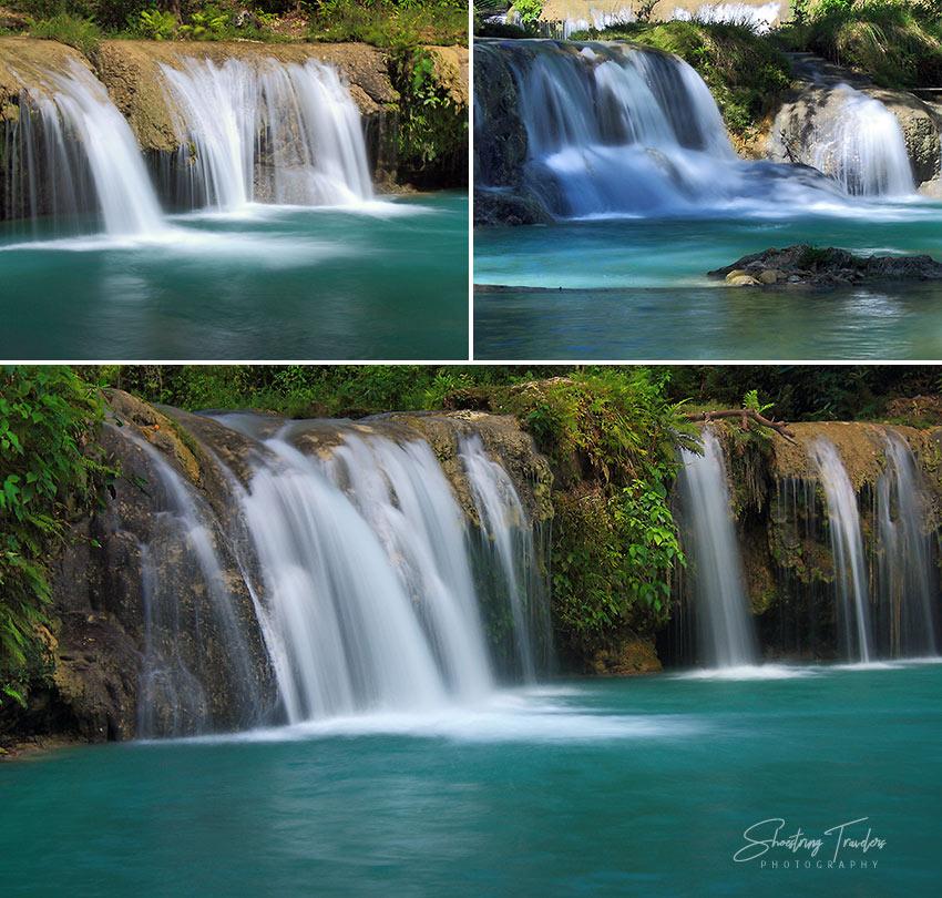 Cambugahay Falls in Lazi