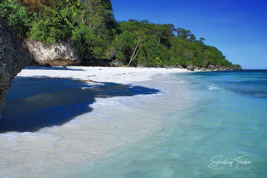 Kagusuan Beach in Maria town