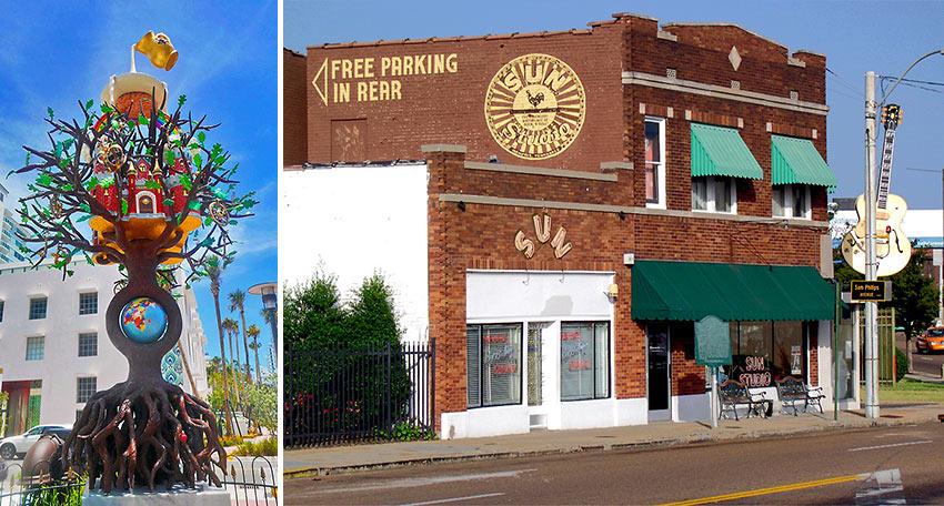 Faena District, Miami Beach and Sun Studio, Memphis