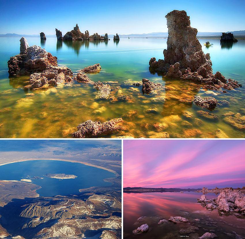 Mono Lake scenes