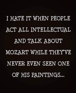Parting Shots: Mozart