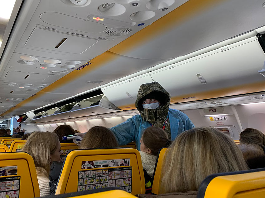 body temperature check for passengers