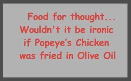 Parting Shots: Popeye's Chicken