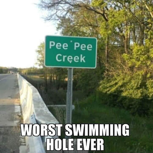 Parting Shots: Worst Swimming Hole