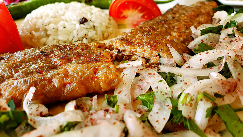 Adana kebab from Turkey