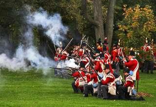 reenactment of the Battle of Queenston Heights