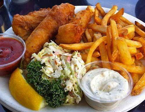 fish and chips at Brophy Bros.