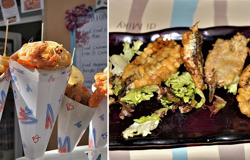 seafood at Manarola, Cinque Terre