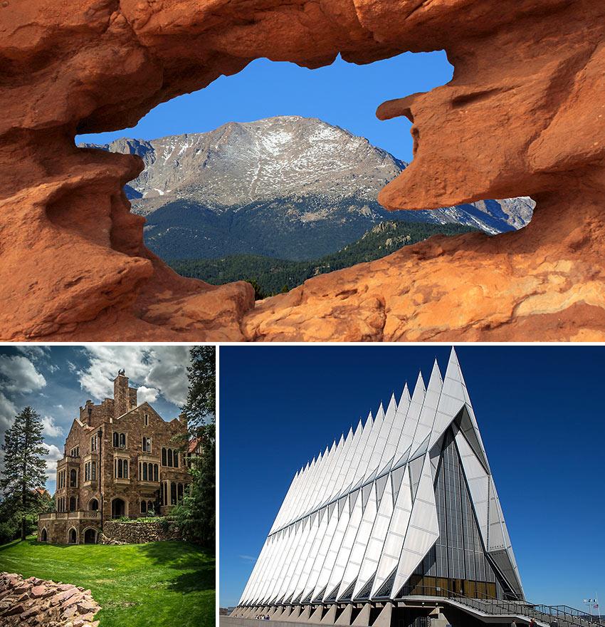 scenes from Colorado Springs