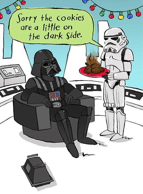 Parting Shots: Cookies on the Dark Side