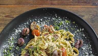 pasta dish at The Cousins Trattoria