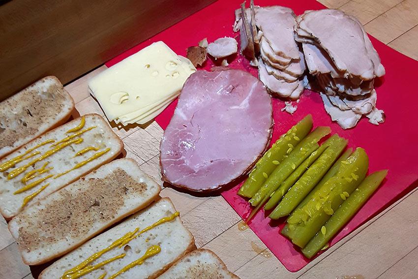 pieces for Cuban Sandwiches