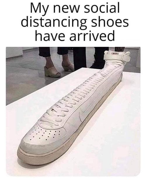 Parting Shots: Distance Shoes