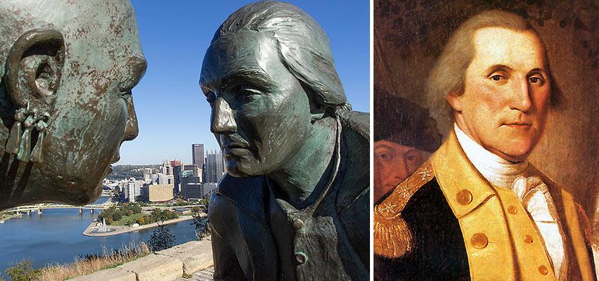George Washington and Guyasuta